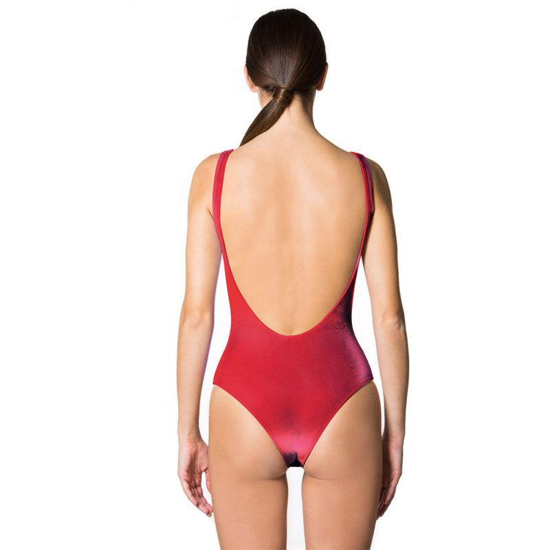 Mia Velluto Red Passion   Mermazing Exclusive Swimwear