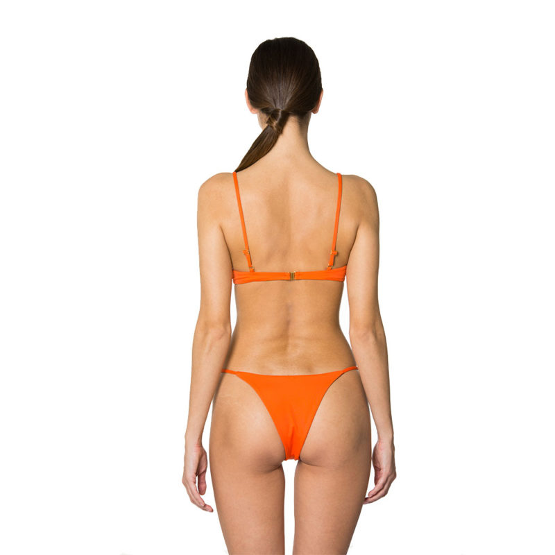 Martina Bright Orange | Mermazing Exclusive Swimwear