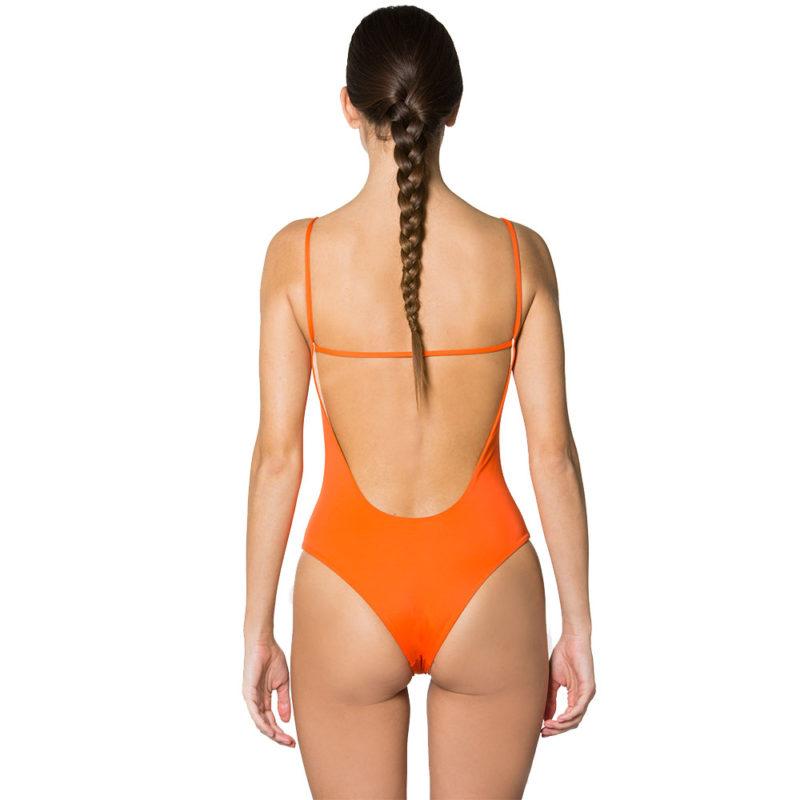 Malisa Bright Orange   Mermazing Exclusive Swimwear