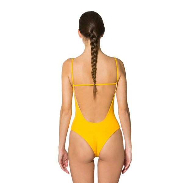 Malisa Sun Yellow | Mermazing Exclusive Swimwear