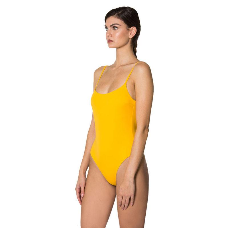 costume giallo intero